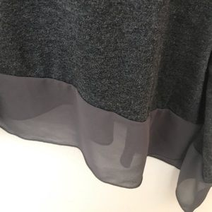 Lane Bryant Tops - Lane Bryant Asymmetrical 3/4 inch sleeve top